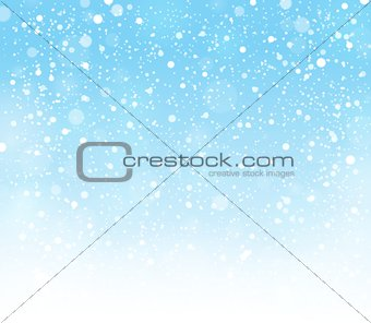 Abstract snow topic background 1