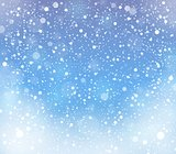 Abstract snow topic background 2