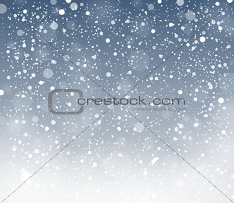 Abstract snow topic background 4