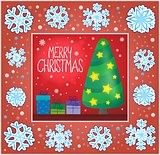 Christmas ornamental greeting card 6