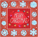 Christmas ornamental greeting card 7