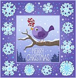 Christmas ornamental greeting card 8