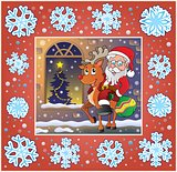 Christmas ornamental greeting card 9