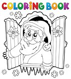 Coloring book Santa Claus thematics 5