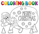Coloring book Santa Claus thematics 6