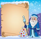 Father Frost theme parchment 3
