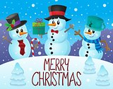 Merry Christmas thematics image 7
