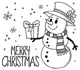 Merry Christmas thematics image 9