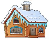 Winter cottage theme image 1