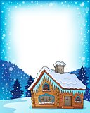 Winter cottage theme image 3