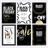 Black Friday sale banners