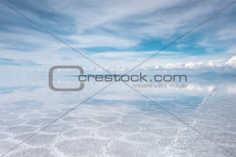 Salar de Uyuni desert, Bolivia