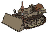 Classic tracked dozer