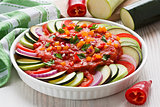 Ratatouille traditional French dish