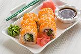 Sushi Masago rolls