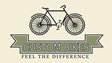 Custom bikes, vintage styled company template