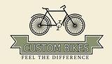 Custom bikes, vintage styled company template