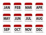 Months calendar