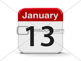 13th January