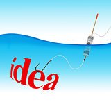 Idea hook fishing tackle
