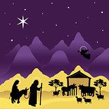 Christmas Nativity Mary and Joseph 3