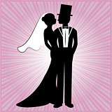 wedding silhouette 7