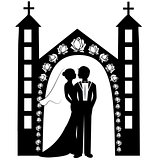 wedding silhouette 8