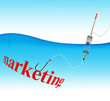 Marketing hook fishing tackle