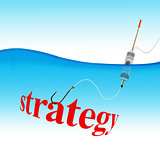 Strategy hook fishing tackle