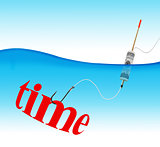 Time hook fishing tackle