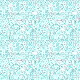 Filter Funnel Seamless Pattern