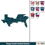 Deep South United States