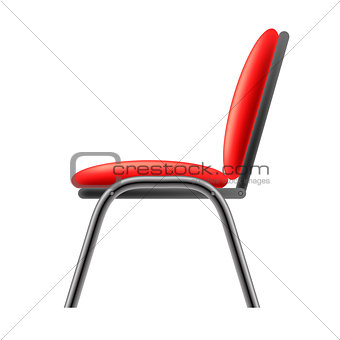 Single Red Office Chair