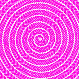 Abstract Pink Spiral Pattern