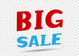 Big sale message