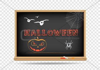 blackboard Halloween Holidays