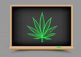 blackboard hemp drug lesson