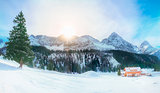 Austrian Alps in winter