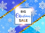 Abstract background for Christmas sale