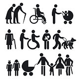 handicapped people and seniors