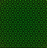 wallpapers with round abstract green patterns