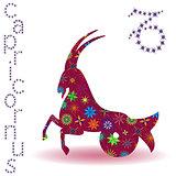 Zodiac sign Capricornus