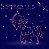 Zodiac sign Sagittarius