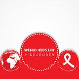 illustration of World AIDS Day