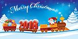 Christmas train 2018
