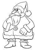 Santa Claus Christmas coloring book