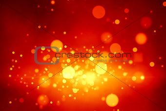 a stylish bokeh lights christmas background