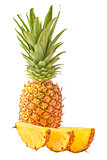 Pineapple solated on white background
