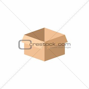 Carton box badge