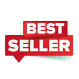 Best seller tag speech bubble